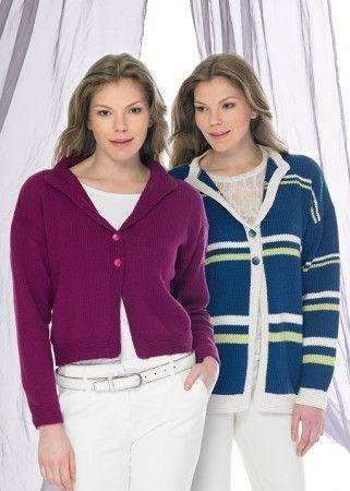 Jackets in Stylecraft Classique Cotton DK (8910)