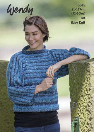 Sweater in Wendy Aurora DK (6045)
