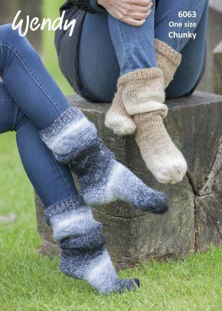 Socks in Wendy Stella Chunky (6063)