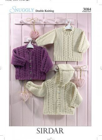 Sweater and Jackets in Sirdar Snuggly DK (3084)