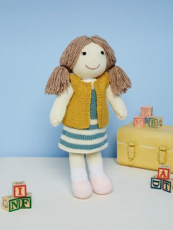 Knitted Doll in Stylecraft DK (9668)