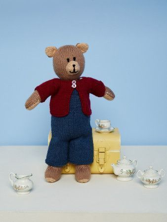 Knitted Bear in Stylecraft DK (9670)