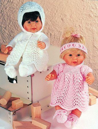 Dolls Outfits Stylecraft Wondersoft DK (4538)