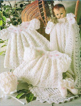 Layette New Born Baby Set Stylecraft Wondersoft 3 Ply (4165)