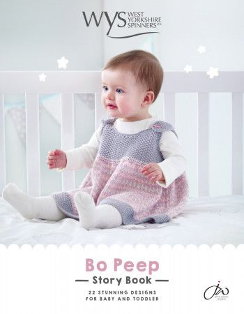 West Yorkshire Spinners Bo Peep Story Book