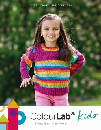 West Yorkshire Spinners ColourLab Kids Pattern Book