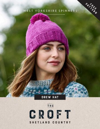 Hat in West Yorkshire Spinners The Croft Shetland Colours (56974)