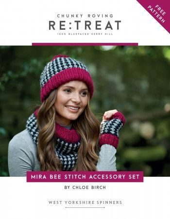 Accessory Set in West Yorkshire Spinners Re:Treat (56973)