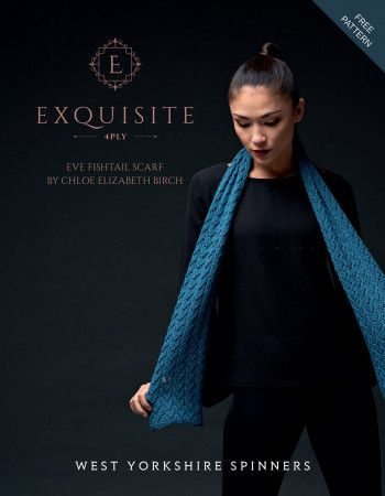 Scarf in West Yorkshire Spinners Exquisite 4 Ply (26998)