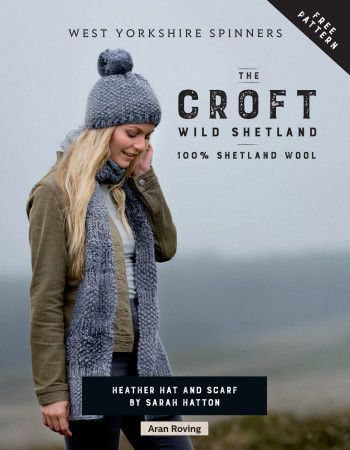 Hat and Scarf in West Yorkshire Spinners Wild Shetland (28999)