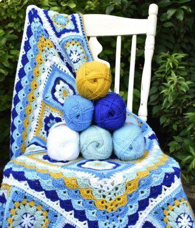 The Portuguese Tile Blanket Colour Pack