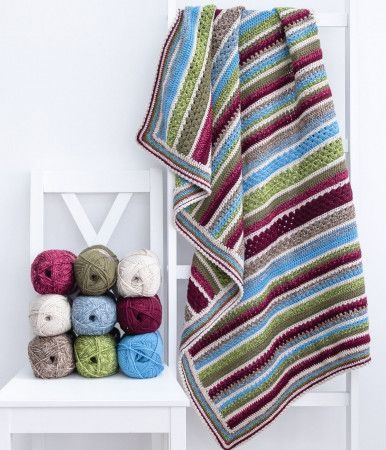 Winter Garden Blanket Colour Pack