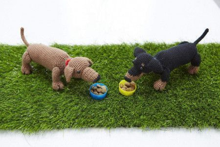 Dachshund Toy Crochet Pattern