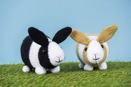 Rabbit Toys Knitting Pattern