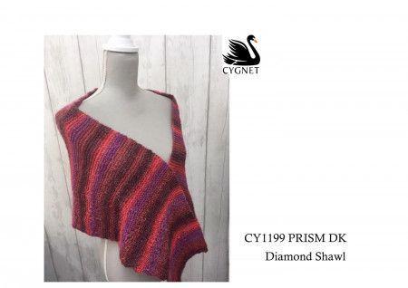 Shawl in Cygnet Prism DK (CY1199)