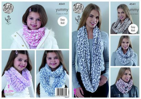 Snoods in King Cole Yummy (4541)