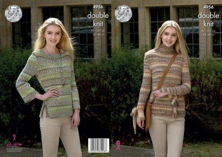 Sweaters in King Cole Drifter DK (4956)