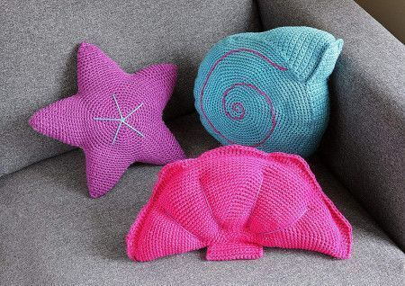 Shell Cushions Crochet Pattern