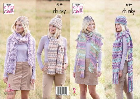 Hats and Scarves in Drifter Chunky (5559)