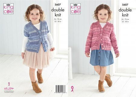 Cardigans in King Cole Island Beaches DK (5607)