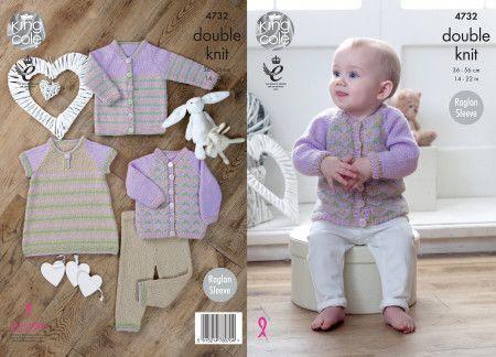 Baby Set in King Cole Comfort Baby DK (4732)