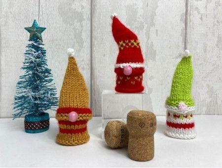 Cork Stopper Gnomes in Cygnet Little Ones DK