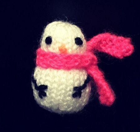 Snowman in Cygnet DK