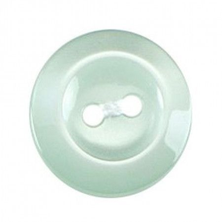 Size 16mm, Flower Effect, Pearl Green, Pack of 4