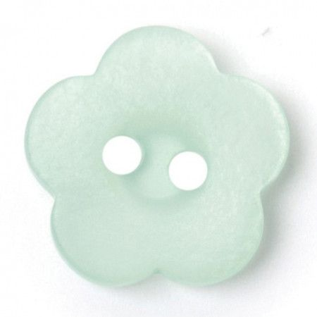 Size 15mm, 2 Hole, Green, Pack of 4