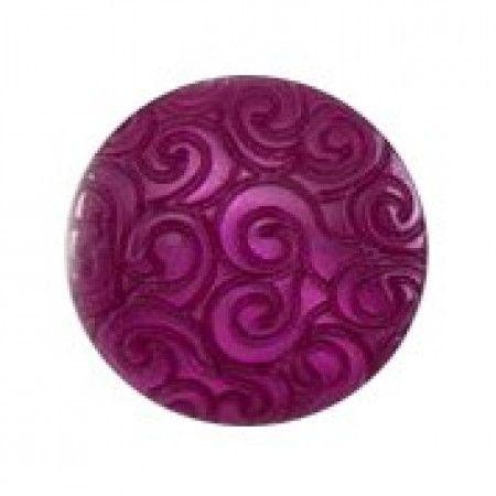 Size 11mm, Swirl Effect, Purple, Pack of 5