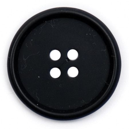 Size 25mm, 4 Hole, Black, Pack of 2