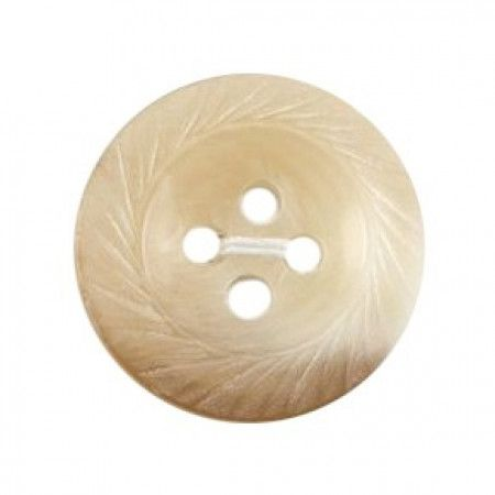 Size 17mm, 4 Hole, Swirl Effect, Brown, Pack of 3