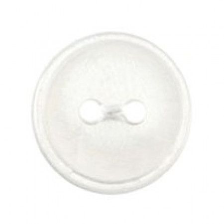 Size 12mm, 2 Hole, Pearl White, Pack of 7