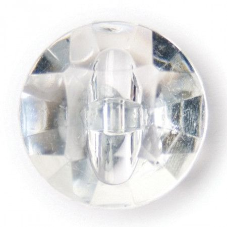 Size 13mm, Diamond Effect, Clear, Pack of 4
