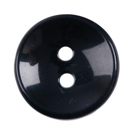 Size 20mm, 2 Hole, Black, Pack of 3