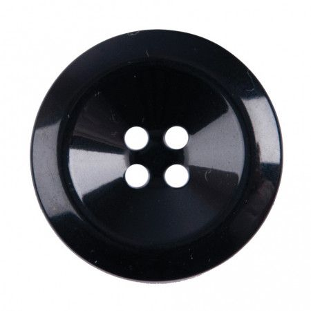 Size 17mm, 4 Hole, Black, Pack of 3