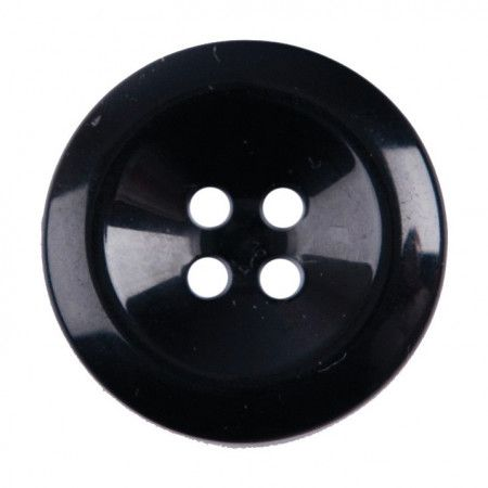 Size 22mm, 4 Hole, Black, Pack of 2