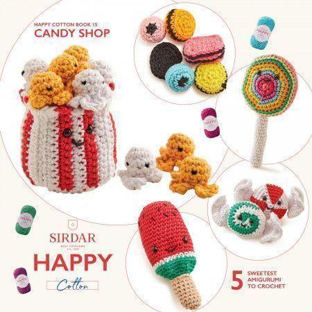 Sirdar Happy Cotton Book 15 - Candy Shop