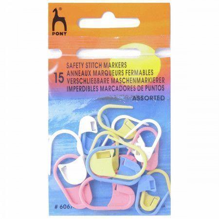 Pony Safety Stitch Markers - Assorted