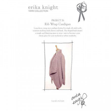 Cardigan in Erika Knight Maxi Wool (Project 26)