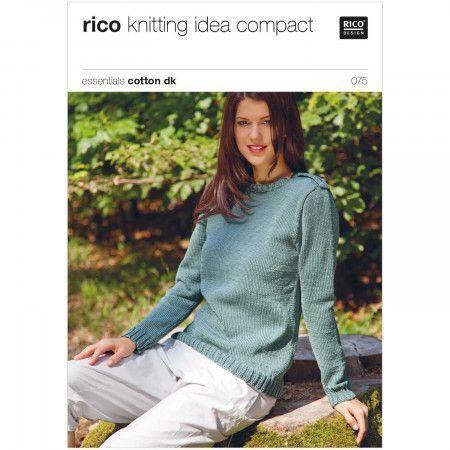 Sweaters in Rico Essentials Cotton DK (075)
