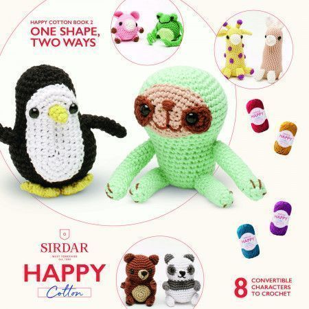 Happy Cotton Book 2 - One Shape, Two Ways