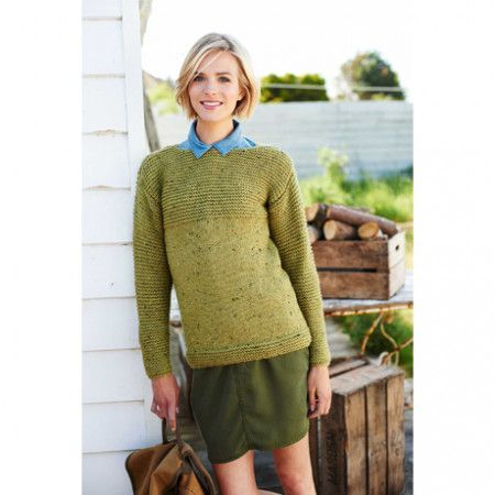 Jumper in Stylecraft Alpaca Tweed Chunky (9207)