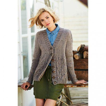 Cardigan and Jumper in Stylecraft Alpaca Tweed Chunky (9209)