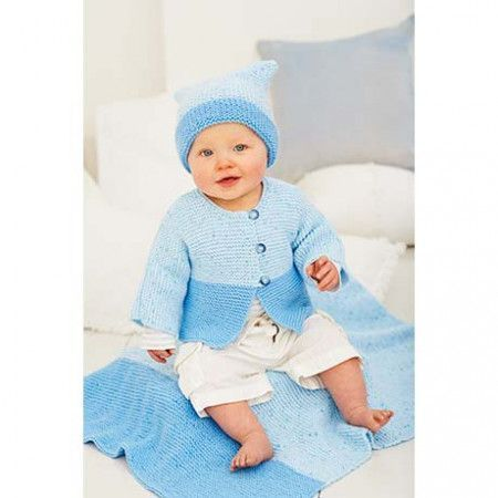 Jackets, Hats and Blanket in Stylecraft Wondersoft DK Prints and Wondersoft DK (9270)