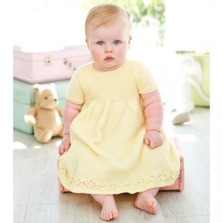 Dresses in Stylecraft Special for Babies 4 Ply (9343)