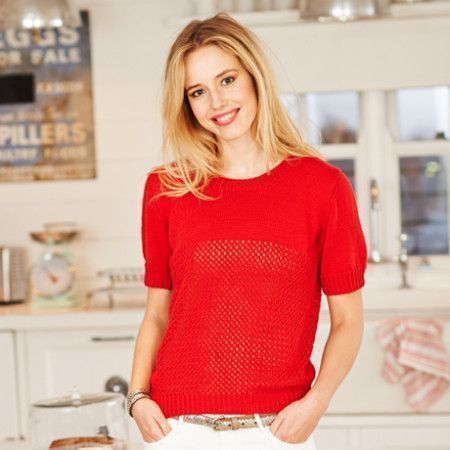 Tee Shirt and Sweater in Stylecraft Classique Cotton 4 Ply (9371)