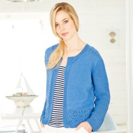 Cardigans in Stylecraft Classique Cotton DK (9374)