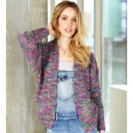 Sweater and Cardigan in Stylecraft Batik Elements DK (9404)