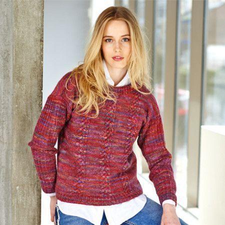 Sweater and Cardigan in Stylecraft Batik Elements DK (9405)